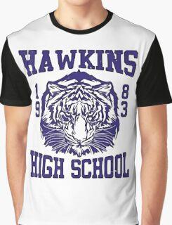 Hawkins High School Graphic T-Shirt
