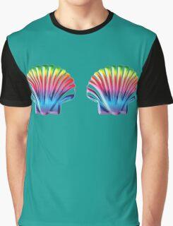 Seashell Bra Graphic T-Shirt