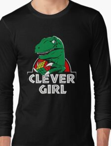 Green Dino Long Sleeve T-Shirt