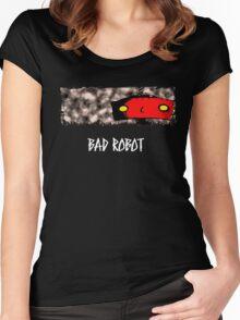 Bad Robot Lost Alcatraz Revolution  Women's Fitted Scoop T-Shirt