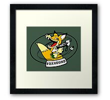FOXHOUND METAL GEAR (2) Framed Print