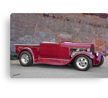 1929 Ford 'Stonewall' Roadster Pickup Canvas Print