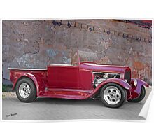 1929 Ford 'Stonewall' Roadster Pickup Poster