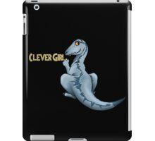 Clever Girl Jurassic park Veloceraptor iPad Case/Skin