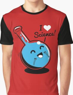 I Love Science Graphic T-Shirt