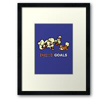 Squad goals Framed Print