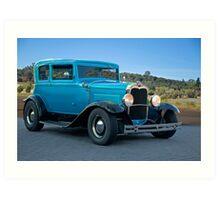 1930 Ford Victoria Art Print