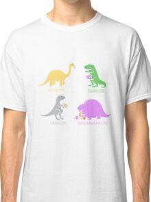 Funny Dinosaurs Classic T-Shirt