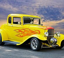 1932 Ford Five-Window Coupe by DaveKoontz