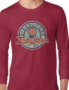 New Dieselpunk Industries Logo Long Sleeve T-Shirt