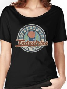 New Dieselpunk Industries Logo Women's Relaxed Fit T-Shirt