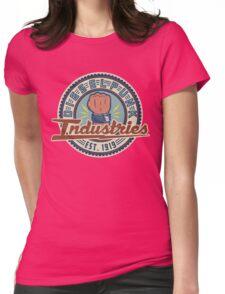 New Dieselpunk Industries Logo Womens Fitted T-Shirt
