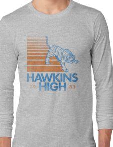 Hawkins High (Stranger Things) Long Sleeve T-Shirt