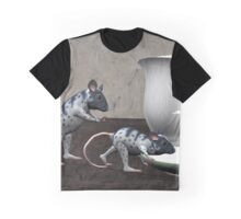 Mean Mouse Graphic T-Shirt