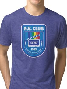 Hawkins AV Club (Stranger Things) Tri-blend T-Shirt