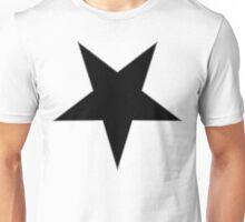 Inverted Black Star Unisex T-Shirt