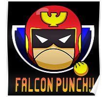 Falcon Punch - Captain Falcon Poster