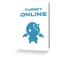 Turret online Greeting Card