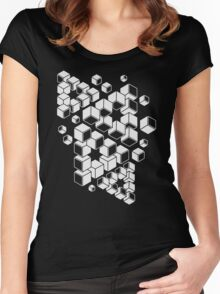 Impossible Triangles Women's Fitted Scoop T-Shirt