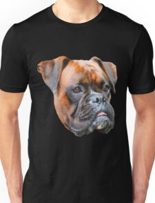 Germany boxer dog  Unisex T-Shirt