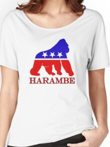 Harambe Vote  Women's Relaxed Fit T-Shirt