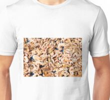 Close up on dried shrimps in the sun Unisex T-Shirt