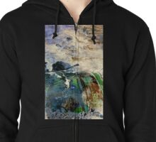 River of Toxic Death Zipped Hoodie