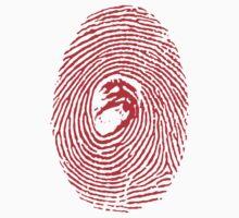 Giygas Thumbprint Kids Tee