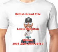 2016 British GP Winner Unisex T-Shirt