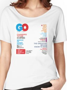 Magazine Women's Relaxed Fit T-Shirt