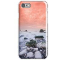 Warm coastal sunset iPhone Case/Skin