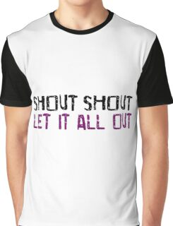 Tears For Fears Shout Song Lyrics Music Quotes Graphic T-Shirt