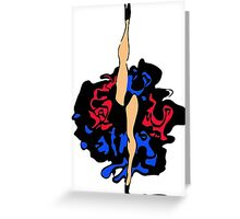 French cancan legs Greeting Card