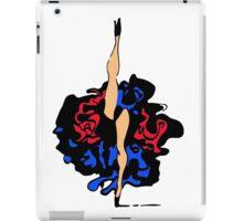French cancan legs iPad Case/Skin
