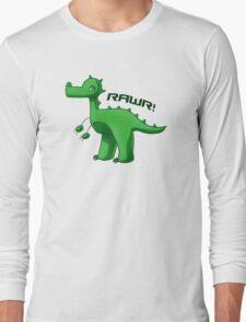 Green T-Rex Long Sleeve T-Shirt