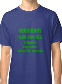 Duchovny, Green Classic T-Shirt