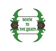 Death to the legion - Dual-Blades Photographic Print