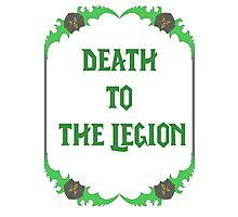 Death to the legion - Bladeframe Photographic Print