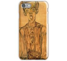 Egon Schiele - Self Portrait 1910 iPhone Case/Skin