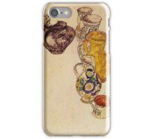 Egon Schiele - Peasants Jug 1918 iPhone Case/Skin