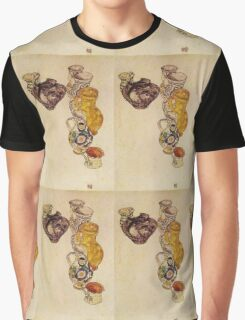 Egon Schiele - Peasants Jug 1918 Graphic T-Shirt