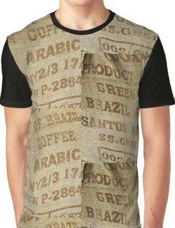 Jute sack for coffee beans Graphic T-Shirt