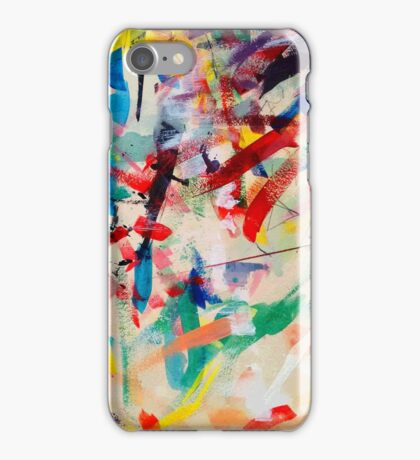 Paint Remanents iPhone Case/Skin