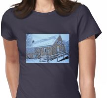 Wash House at Heller Grist Mill Womens Fitted T-Shirt