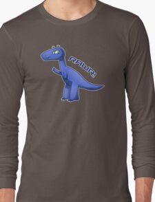Blue T-Rex Long Sleeve T-Shirt
