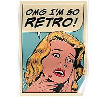 So retro Poster