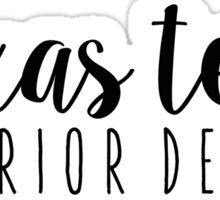 Texas Tech Interior Design Sticker