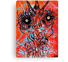 Disguised Character Canvas Print