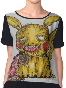 pikachu garbage party Chiffon Top