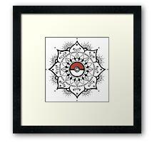Pokemandala Framed Print
